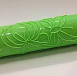 Скалка текстурная с ручками Бабочки, фото 3