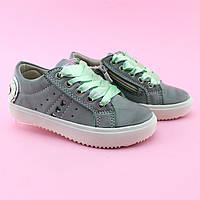 Слипоны кеды на девочку Атласные шнурки бренд обуви Том.м размер 25,27,28,29