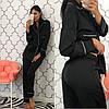 Женский шелковый домашний костюм- пижама в расцветках. КС-1-0219, фото 3
