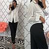 Женский шелковый домашний костюм- пижама в расцветках. КС-1-0219, фото 7