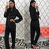 Женский шелковый домашний костюм- пижама в расцветках. КС-1-0219, фото 4