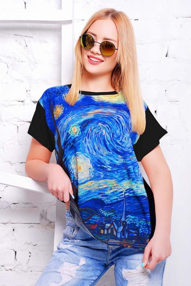 """Женская футболка """"Air"""" с принтом Пикассо"""