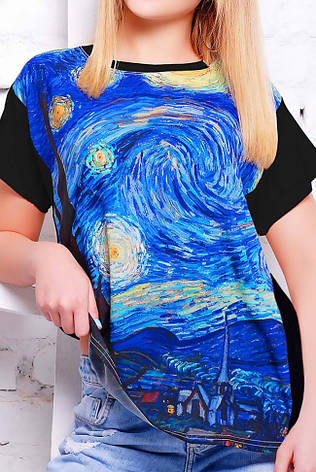 """Женская футболка """"Air"""" с принтом Пикассо, фото 2"""