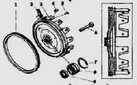 Вставка картера маховика (пр-во КАМАЗ)