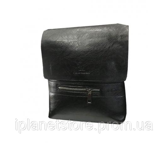 efb745fe7a53 Мужская сумка кожзаменитель через плечо WS12 черная: продажа, цена в ...