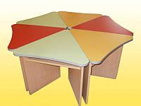 Стол для детского сада Лепесток (700*700*460h)