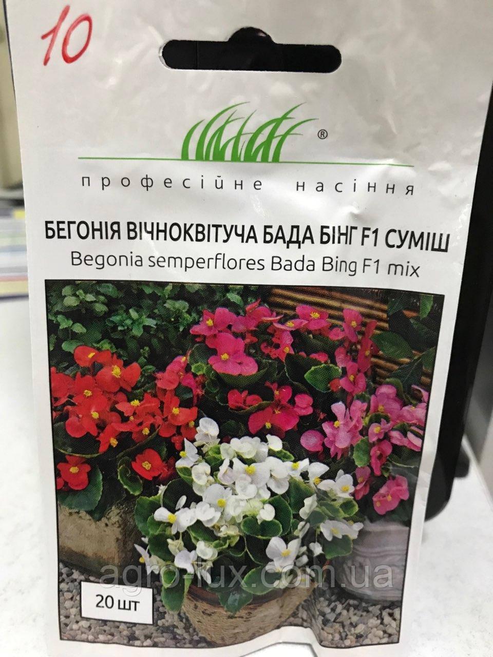 Бегония Бада Бинг F1 20 шт. СИНГЕНТА / Syngenta