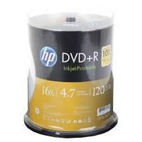 DVD+R диски для видео Hewlett-Packard Cake box100