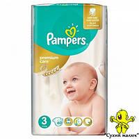 Підгузники Pampers Premium Care 3 60 шт. (5-9кг)  - CM00080