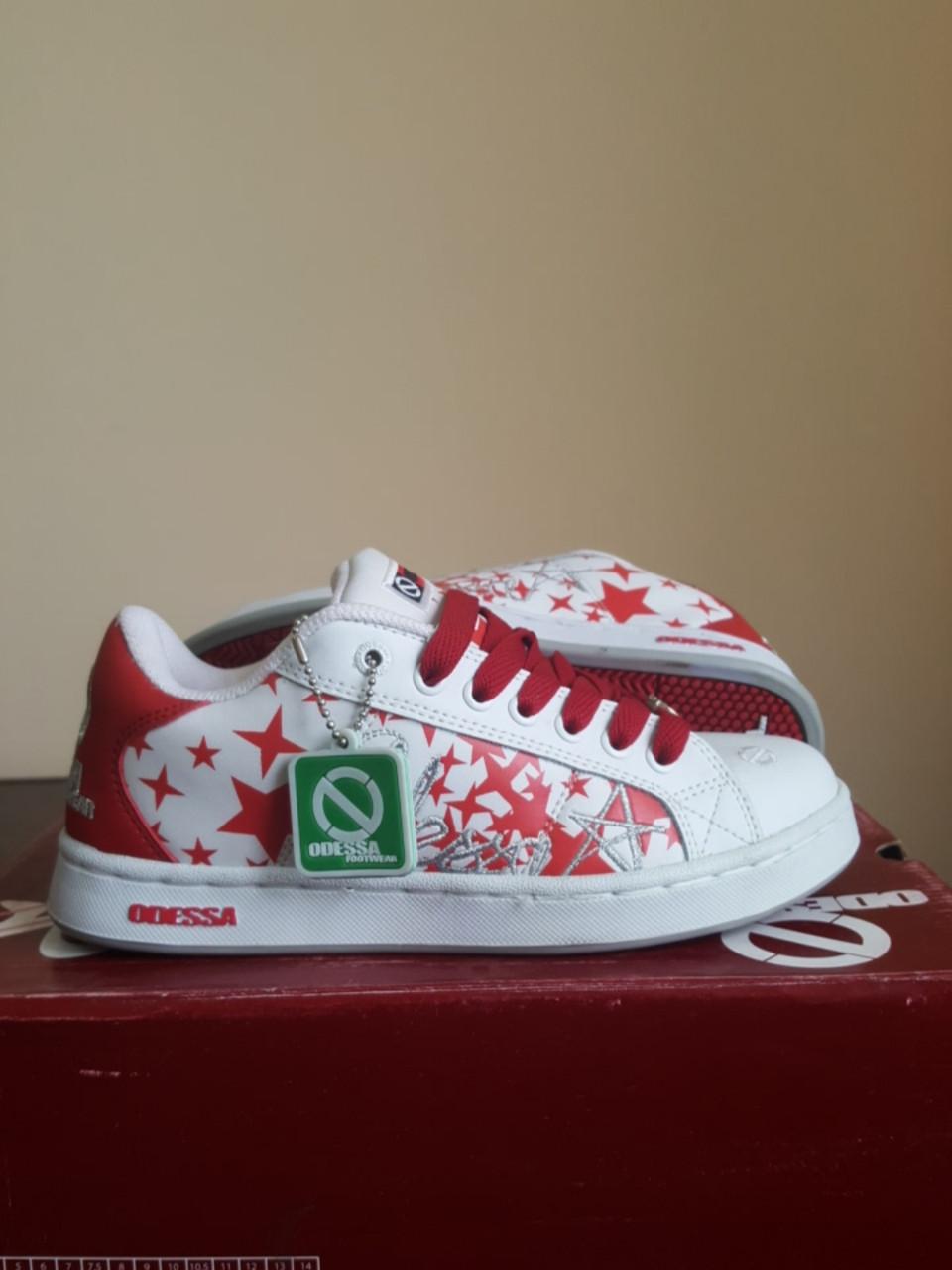 Кросівки Odessa Baker Gstars wht/red/sil розмір 37 (23 см)