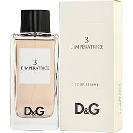 Жіночі парфуми в стилі D&G L ' imperatrice 3 (100 мл) Дольче Габбана Імператриця імператриця парфуми