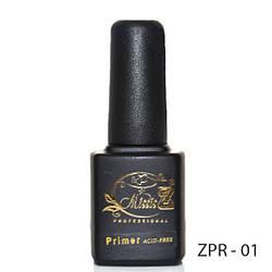 Безкислотний праймер для знежирення натурального нігтя 7мл. ZPR-01