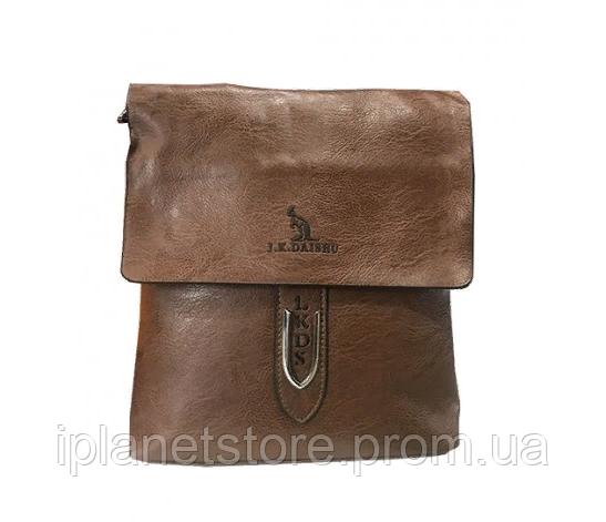 44d950938e27 Мужская сумка кожзаменитель через плечо WS-13 цвет карамель: продажа ...
