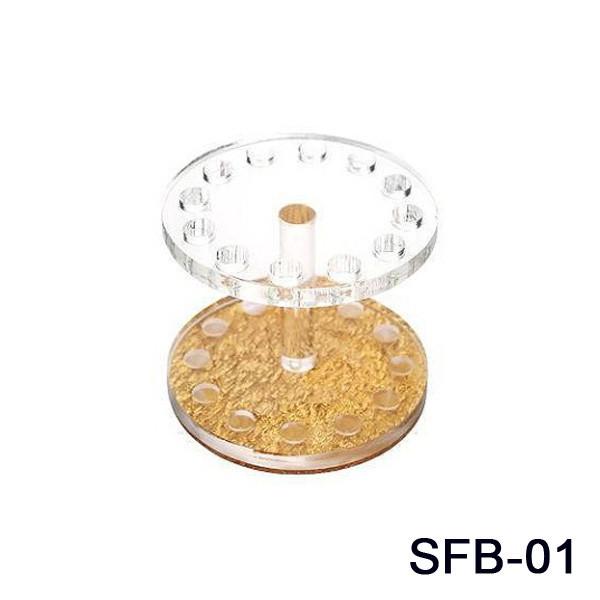 Подставка для кистей круглая  SFB-01