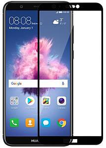 Стекло GLASS для Huawei P SMART с черной рамкой