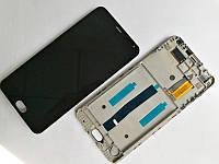 Дисплей для Meizu M2 Note (M571) + touchscreen, черный, с передней панелью, желтый шлейф Высокое качество