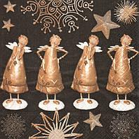 Салфетка декупажная Четыре ангела