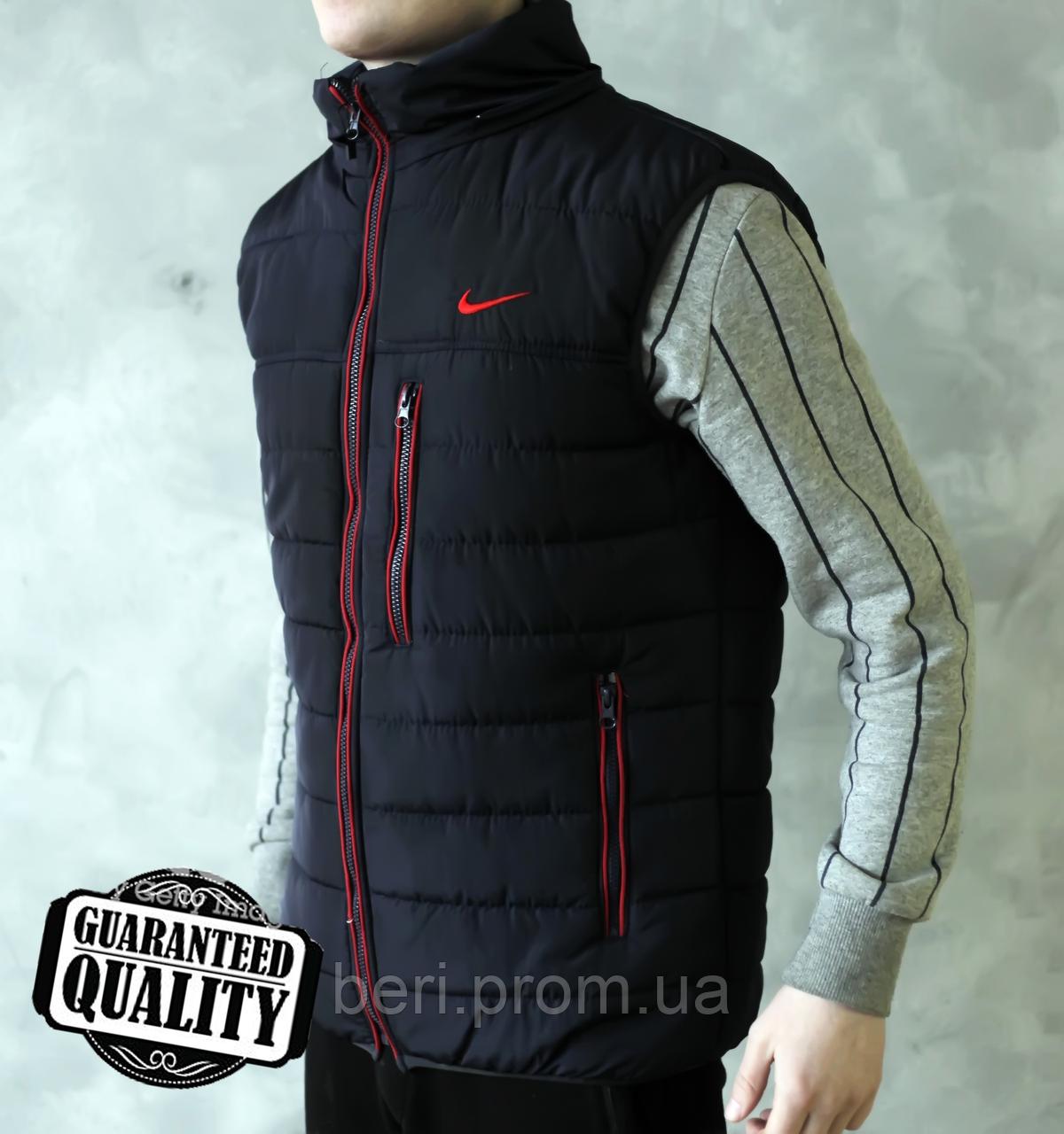 be426f9d Мужской жилет Nike | Чоловічий жилет Найк (Черно-Красный), цена 570 ...