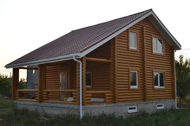 Дом построен в п.г.т Каролина Бугаз 140 м2