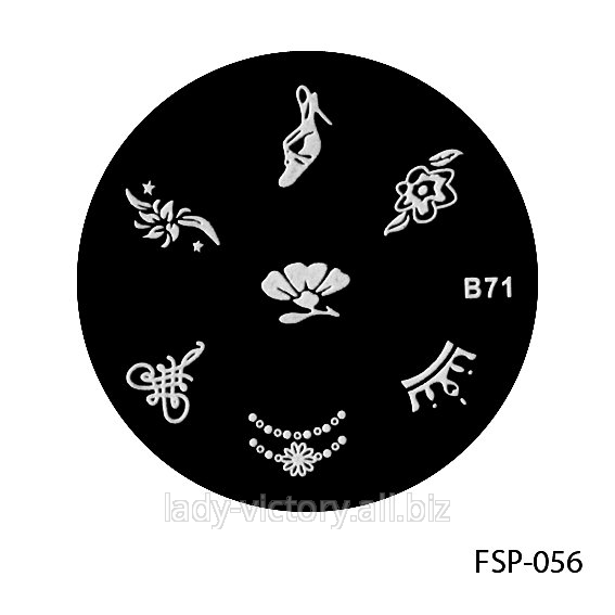 Форма для штампа. FSP-056