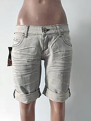 Шорты женские джинсовые LEGEND JEANS, Турция