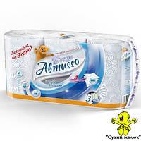 Рушники паперові Almusso Bravo (3 рул.) 3-х шарові  - CM00580