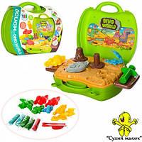 Набір пластиліну Парк динозаврів, в валізі, 26 предметів  - CM00702