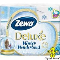 Туалетний папір Zewa Deluxe Білий 4шт  - CM01061