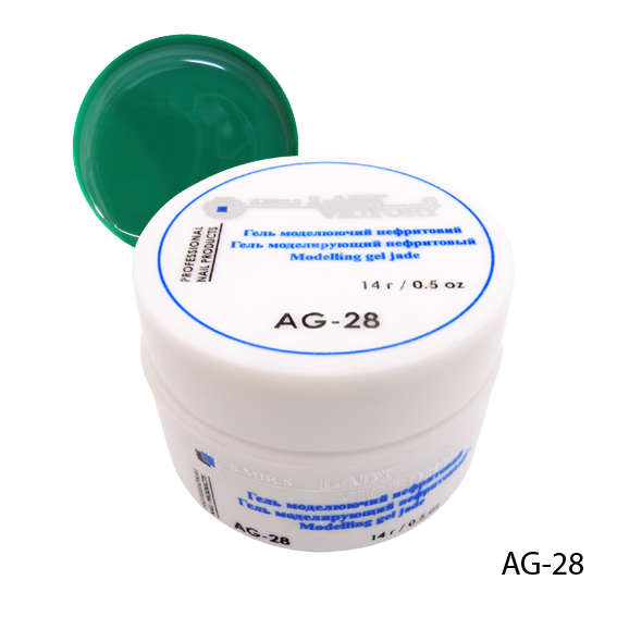 Гель AG-28 для дизайна ногтей