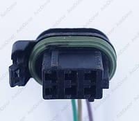 Разъем электрический 6-и контактный (21-12) б/у