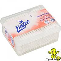 Палички вушні гігієнічні Linteo (200шт) пластик  - CM01216