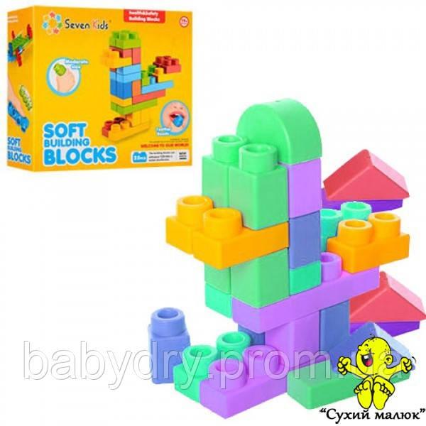 Конструктор SevenK мякий, великий для малюків 25 деталей, 19міс.+  - CM01399