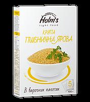 Крупа пшеничная яровая ТМ «Holm's» — варочный пакет в картонной упаковке 400 г