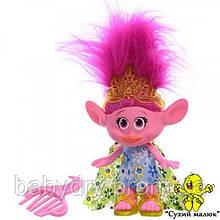 Лялька Trolls Poppy 14см., гребінець Dreamworks  - CM01536