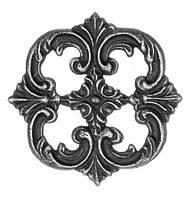 Декоративный элемент,металлический орнамент 120 Арт. AD-55.050