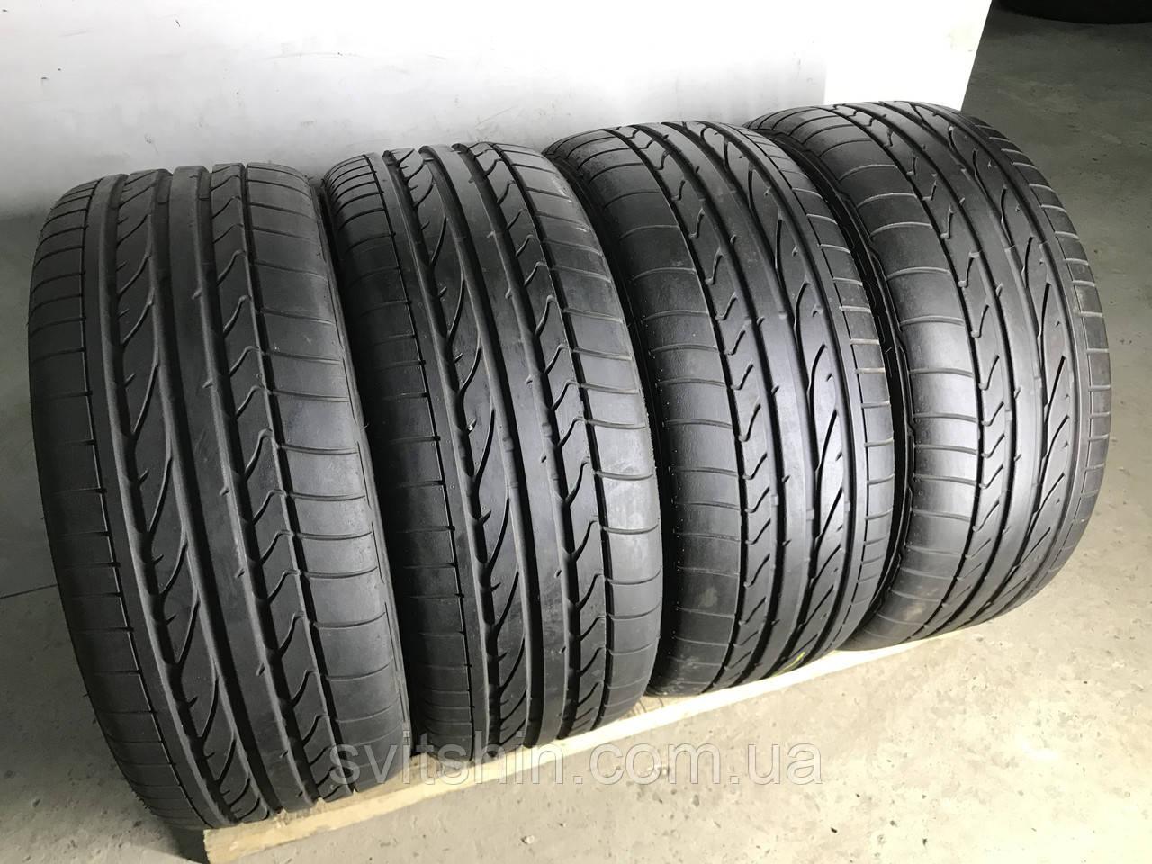 Шини бу літні 225/50R17 Bridgestone Potenza RE050A (7мм) 4шт.