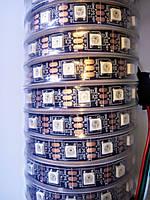 Светодиодная пиксельная лента SMD5050 ws2812 14.4W, 60LED/m, 5V