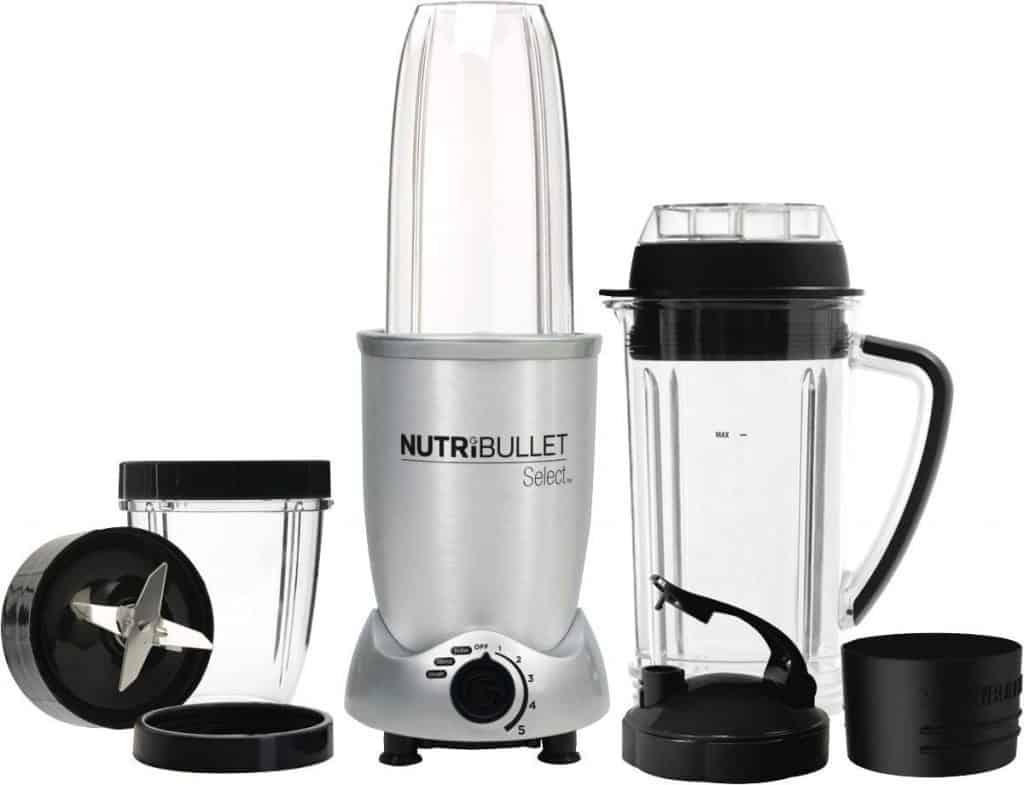 NutriBullet PRIME 12-предметов высокоскоростной блендер 1000Вт, металл