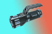 Фонарик-прожектор Police LX001 (с синим свечением)