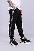 Мужские спортивные штаны с лампасами Quest Wear - Fingers Up