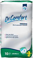 Пеленки Dr.Comfort 60x90 см. (10 шт.) пелюшки   - CM01690