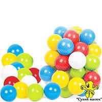 Кульки для сухих басейнів, набір 80мм. ТехноК 4333 (60шт.)   - CM01825