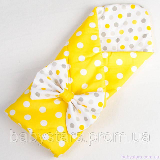 Детский демисезонный конверт-одеяло на выписку