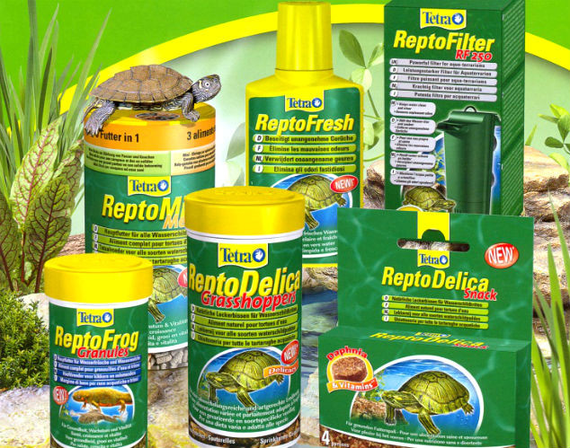 Корма для черепах, рептилий Tetra