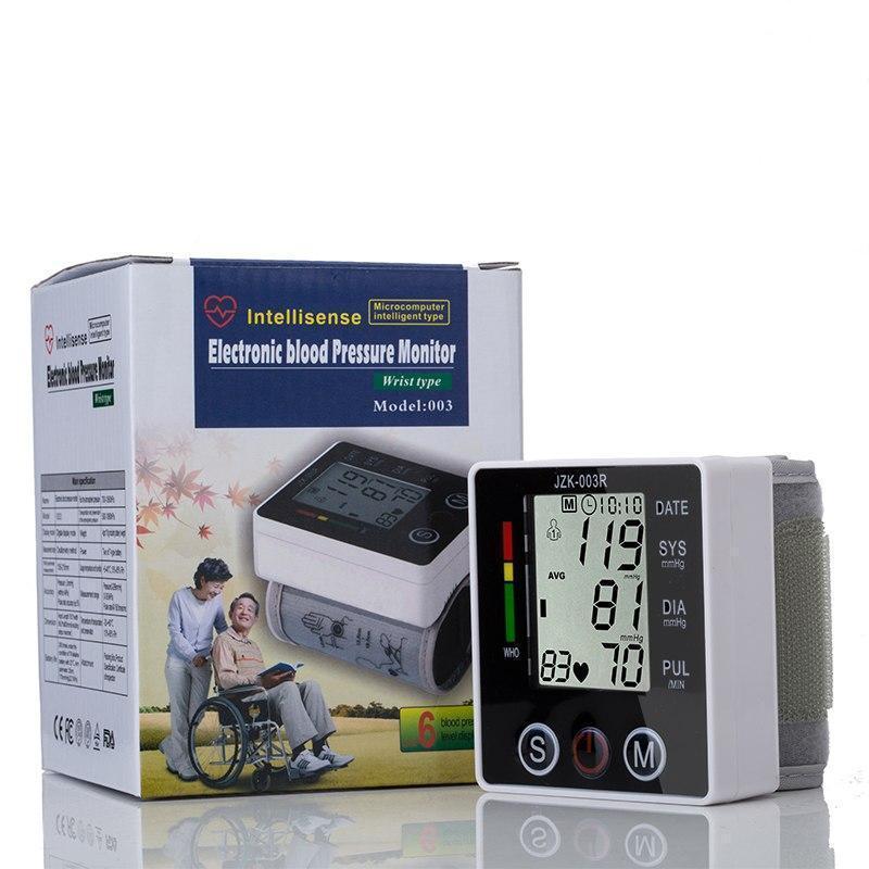Электронный измеритель давления, тонометр electronic blood pressure, тонометр на запястье