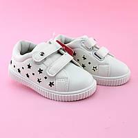 Белые кроссовки Слипоны девочке  тм Том.м размер 23,25, фото 1