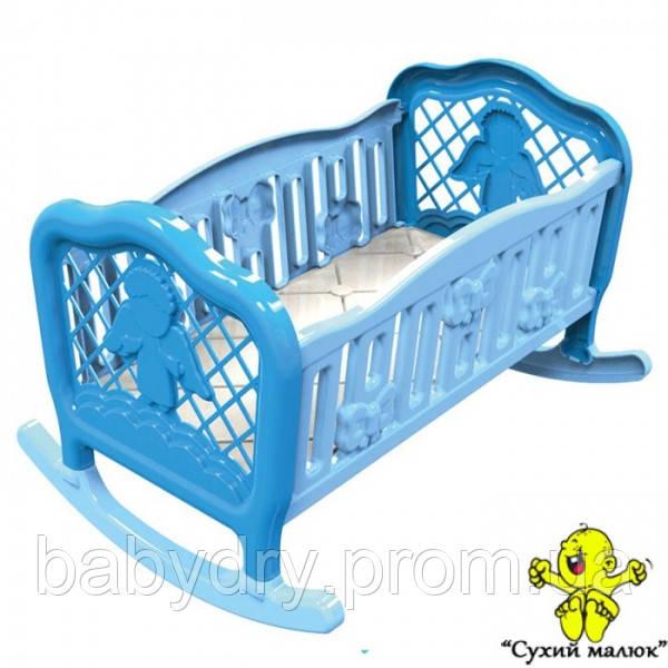 Ліжко колиска для ляльки ТехноК 4531  - CM01394