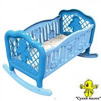 Ліжко колиска для ляльки ТехноК 4531  - CM01394, фото 1