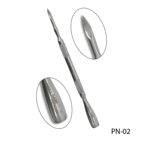 Двухсторонний металлический пушер. PN-02