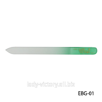 Двухсторонняя стеклянная пилка для натуральных ногтей. EBG-01
